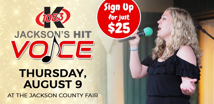 Jackson's Hit Voice - Sign Up Now!