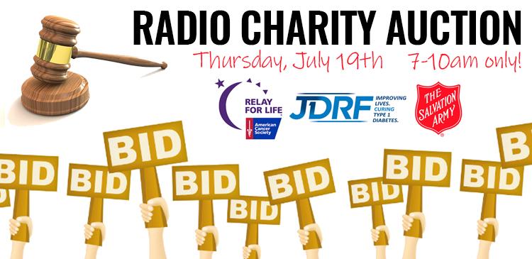 Radio Charity Auction