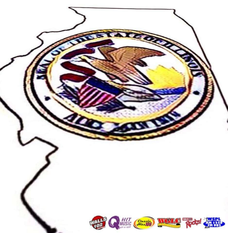 Illinois Logo State Outline Studstill Media