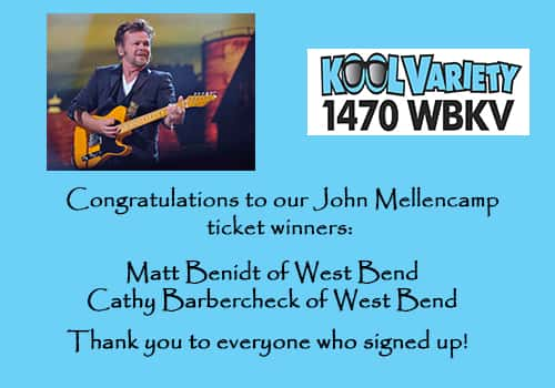 John Mellencamp Winners
