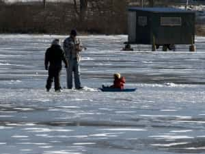 Register now for Youth Ice Fishing Clinic at Black Hawk Lake