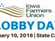 Iowa Farmers Union Lobby Day Tomorrow