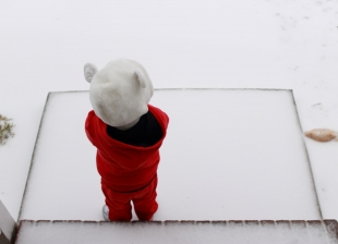 Kids can learn about snow & ice during Sac County's Knee High Naturalist Program