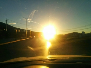 Driver Blinded By Sun Rear-Ends Another Vehicle