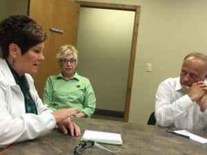 Congressman Steve King Hears First-Hand Accounts Of Area Healthcare Issues