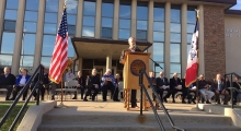 Carroll County Courthouse Is Rededicated In Style On Chilly October Morning