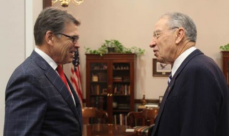 Rick Perry faces Senate hearing for Energy Department post