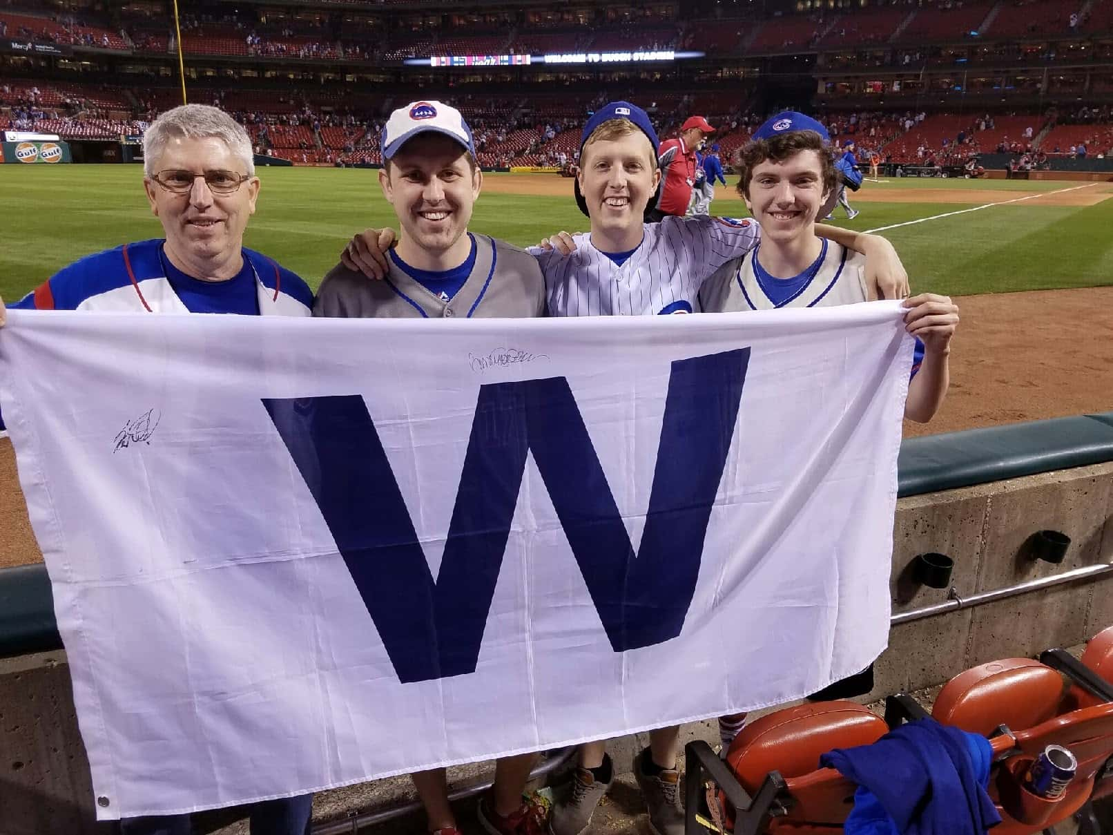 Stephas-Men-at-Cubs-game