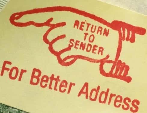 return to sender stamp