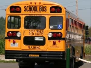 Authorities On Scene Of Minor IKM-Manning School Bus Accident