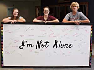 CHS Juniors' Project Now Inspiring Hope In St. Anthony Oncology Department