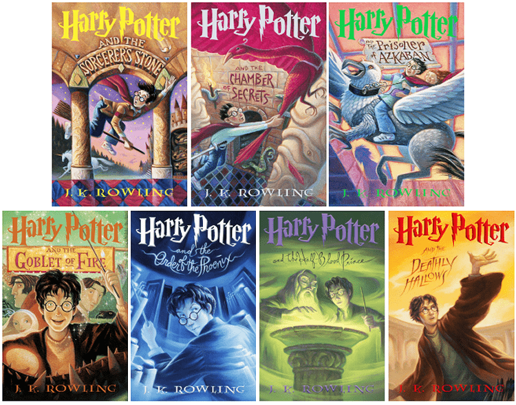 review harry potter book series
