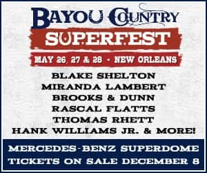 bayou country super fest graphic