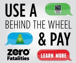 zero fatalities - distracted driving 2016