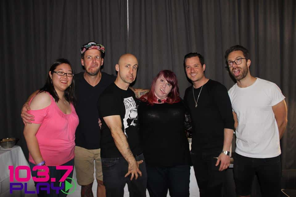 Clearly our listeners were to kcick it with Simple Plan!