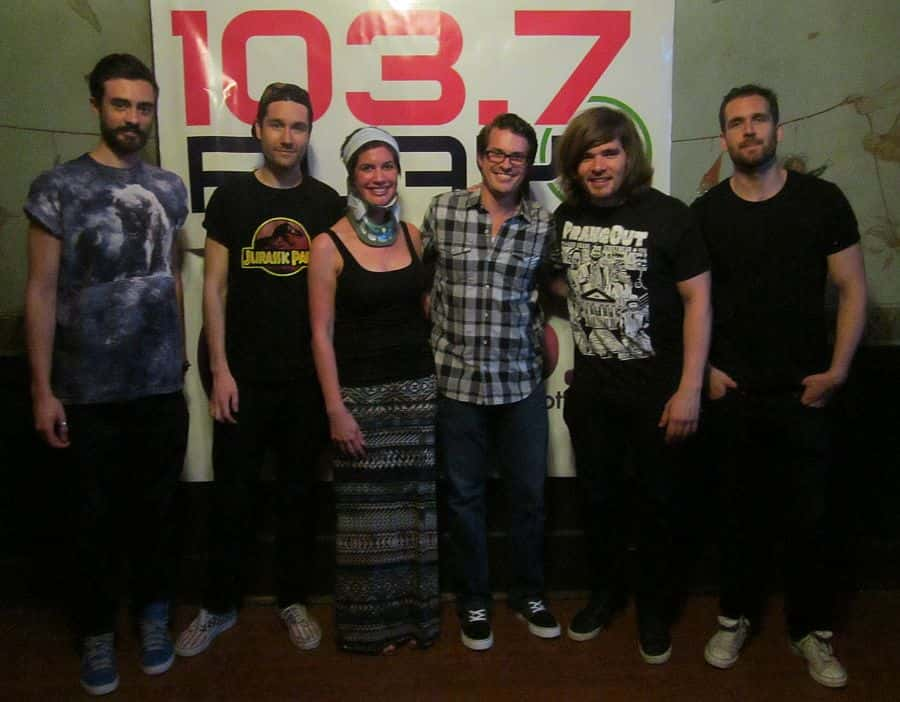 PLAY listeners meet Bastille backstage!