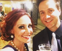 Melissa Chase & Jack 103.7 Play hosting the Richmond Magazine Elby Award!
