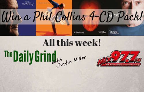 Win a Phil Collins 4-CD Pack!