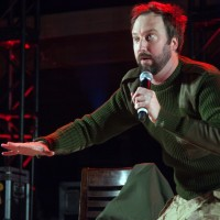 Tom Green and the Carpet Frogs Perform in Afghanistan