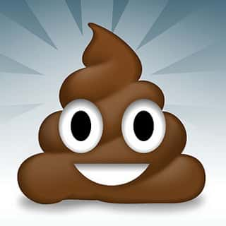 Cartoon-poop