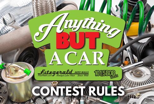 Fitzgerald Anything But A Car 495 x 334 CONTEST RULES