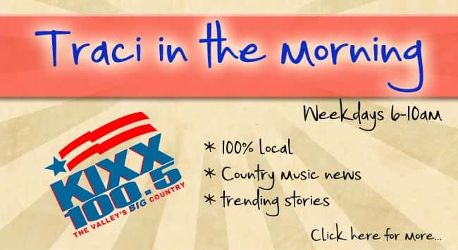 Traci in the Morning Banner