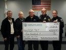PARKE VERMILLION COUNTY COMMUNITY FOUNDATION COPS AND KIDS DONATION