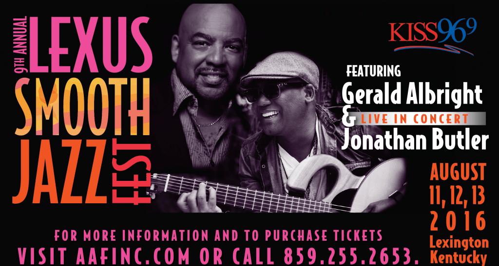 9th Annual Lexus Smooth Jazz Fest 2016_KISS 96.9 Website Banner