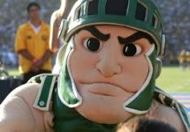 sparty mascot