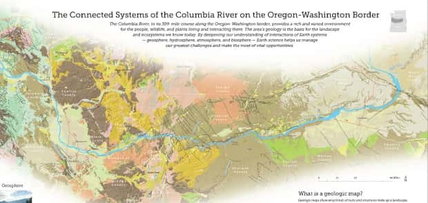 New Free Map Offers InDepth Look At Columbia River - Us map columbia river