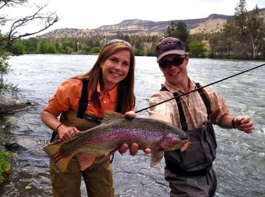 Odfw recreation report central oregon highlighted for Fishing report oregon
