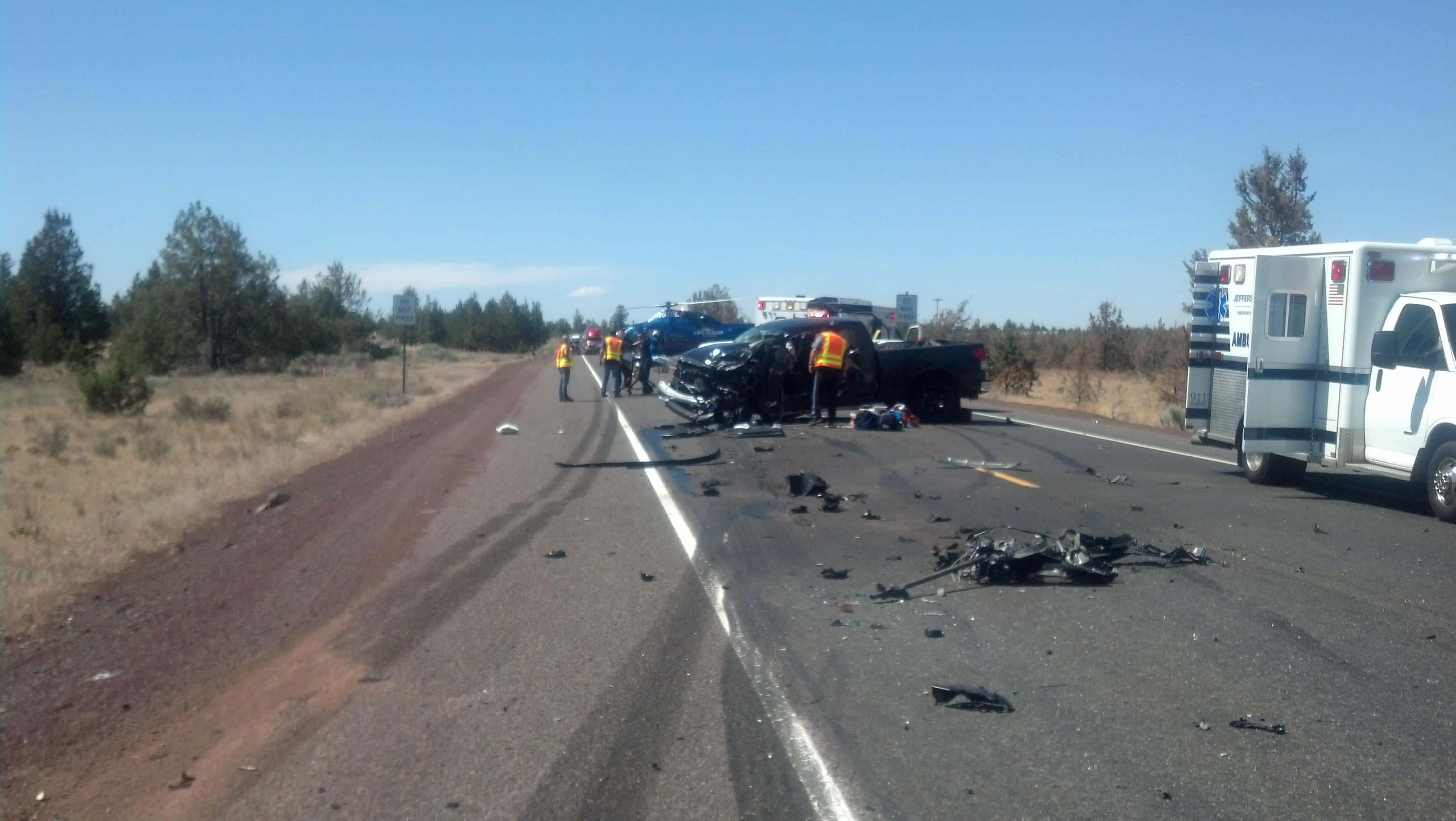 Man Cited In Serious Injury Crash In Wasco County