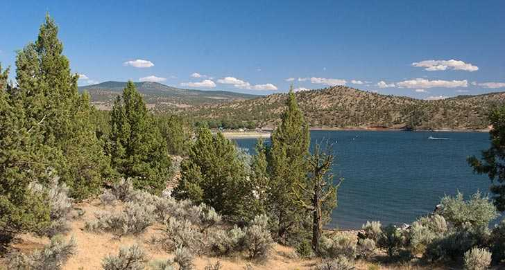 Low water levels close boat ramp for Prineville reservoir fishing