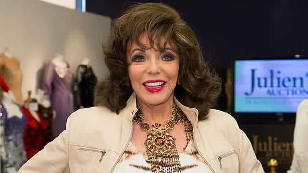 Joan collins auctioning off jewelry and more wednesday for Decoration jewels mhw