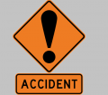 ACCIDENT SIGN TRAFFIC DRIVING ROAD
