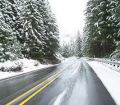 winter travel roads
