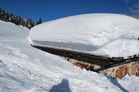 heavy snow  roofs