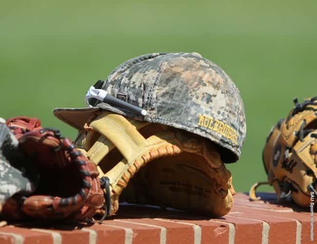 SAU Baseball Cap-Glove