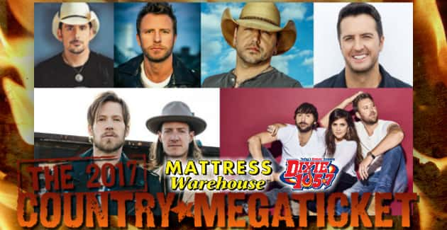 nEW cOUNTRY mEGA tICKET