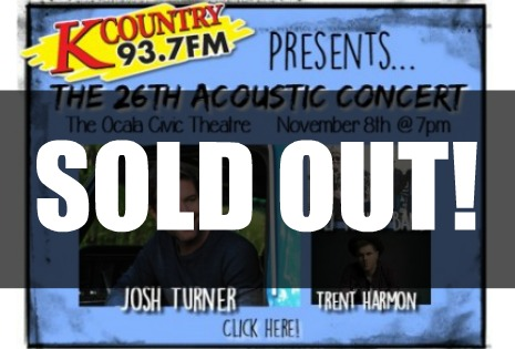 acoustic sold out