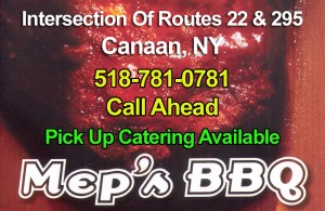 Meps BBQ Menu Header