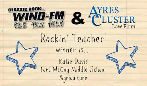 rockin teacher winner