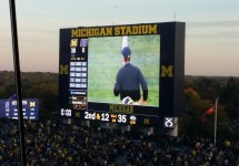 michigan scoreboard