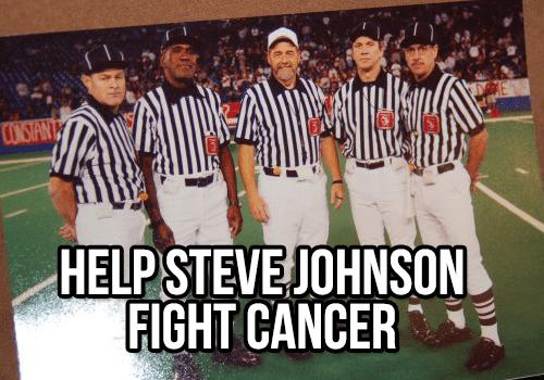 Steve Johnson Cancer Fight