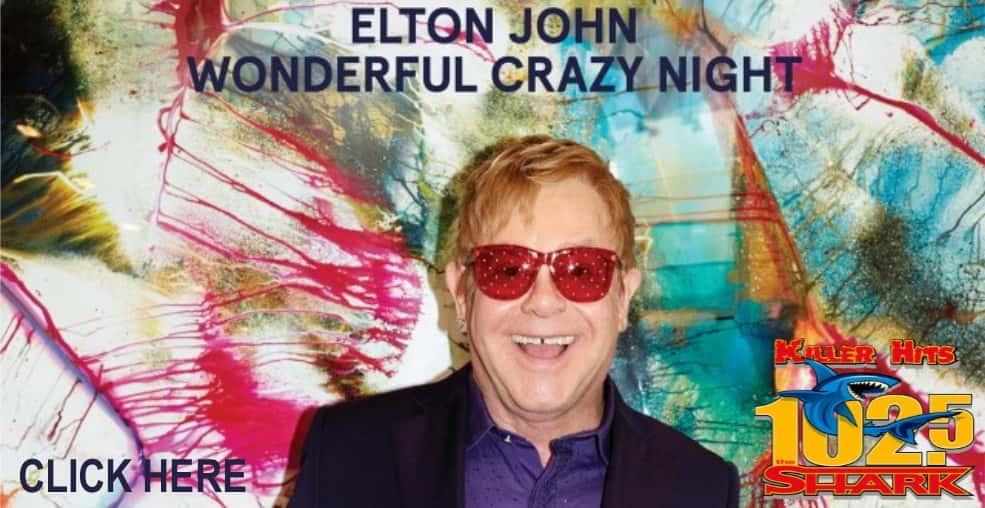 Elton John Wonderful Crazy Nigh Giveaway