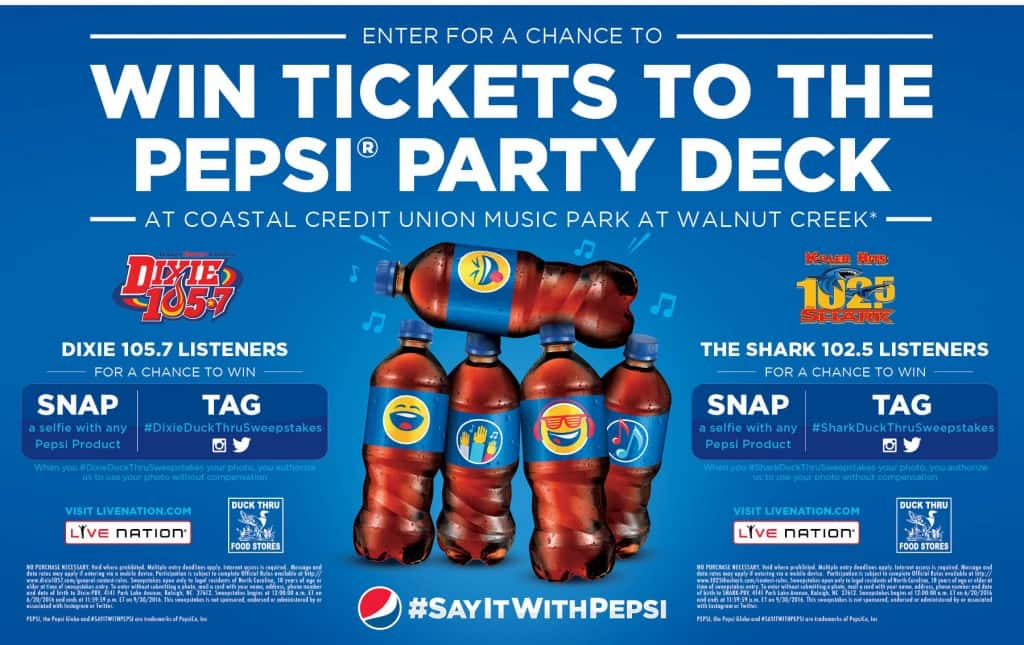 Pepsi Deck Party With 102.5 The Shark
