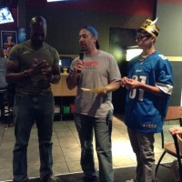 A WINNER @ Buffalo Wild Wings Monday NIght Football Party hosted by  Jayc & Dad