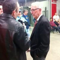 Dad Interviewing HoF SDSU Basketball Coach Steve Fisher