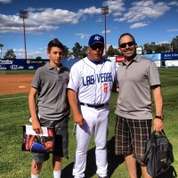 Jayc & Dad with LV 51's Manager Wally Backmon