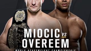 UFC 203 poster